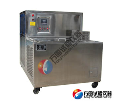 lDW-80T铁素体钢落锤冲击低温槽