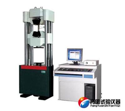 WAW-600D微机控制电液伺服试验