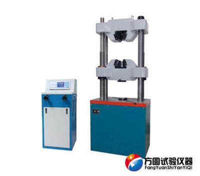 WE-100B数显液压万能试验机