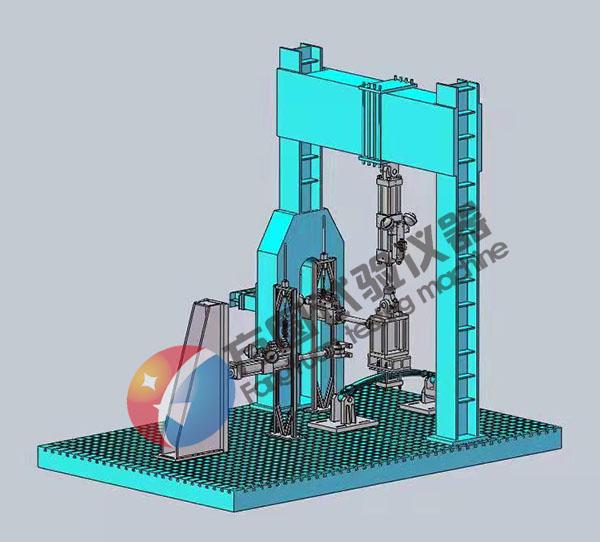 自平衡静动力加载土工模型试验系统设备